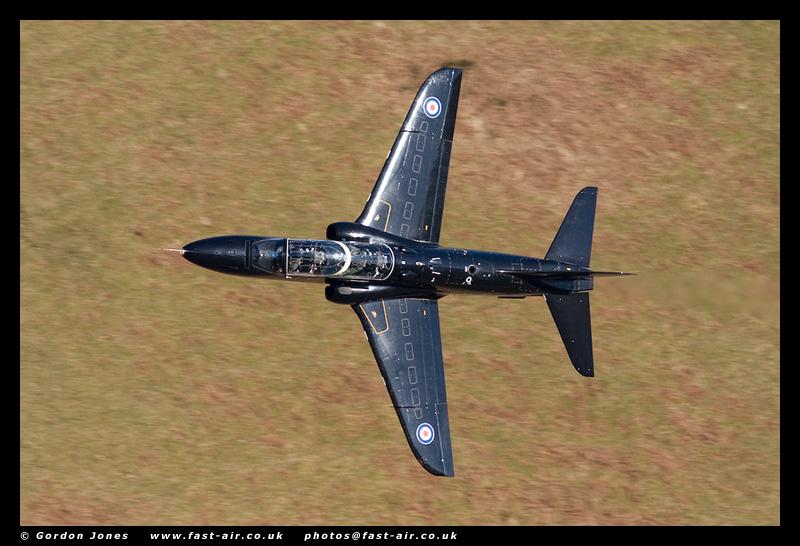 RAF Hawk T1 XX169 - 19 Sqn - low level photo