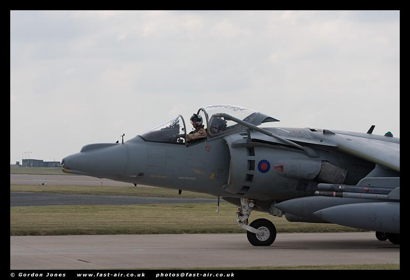 Navy Strike Wing Harrier GR9A (ZD322) - Cockpit  photo