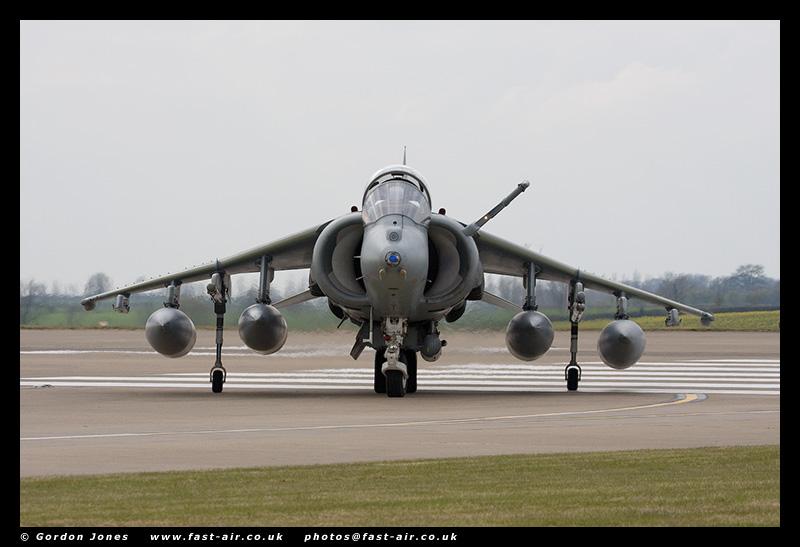 Navy Strike Wing Harrier GR9A (ZD322) photo