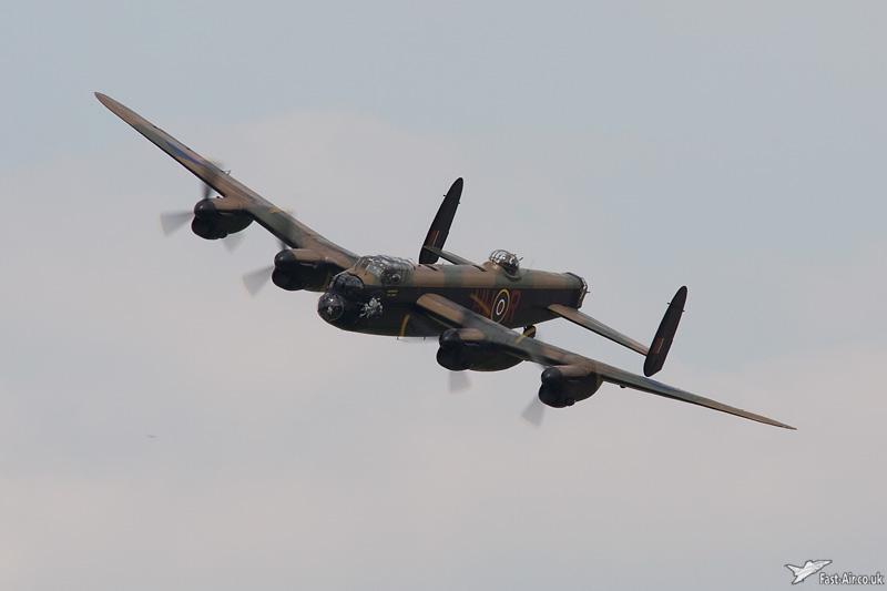 BBMF Lancaster B1 PA474 aerial photo