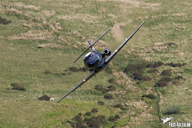 RAF Dominie T1 (XS727) low level photo 2