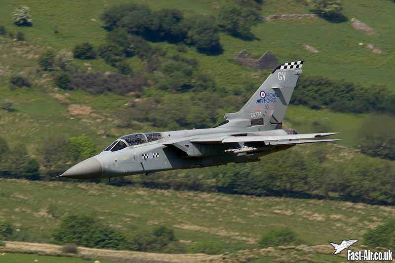 RAF Tornado F3 (ZG774) 43 Sqn Special Low Level photo 3
