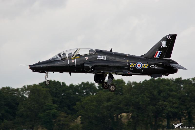 RAF Hawk T1A XX203 100 Sqn