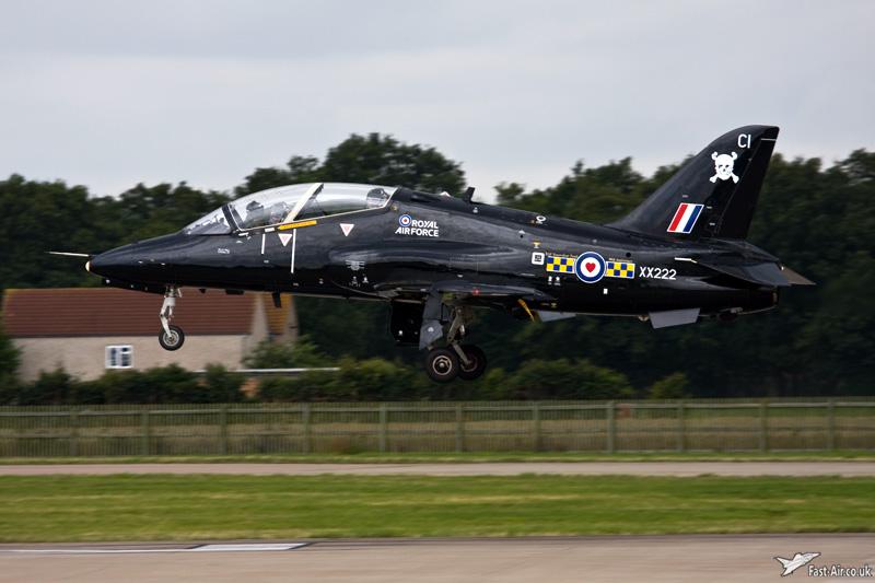 RAF Hawk T1A XX222 100 Sqn