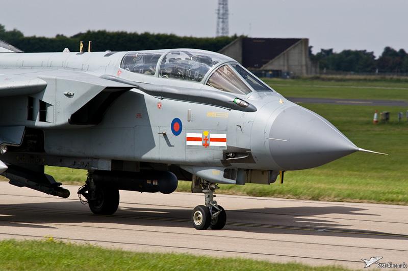 RAF Tornado GR4 ZA600 41 Sqn