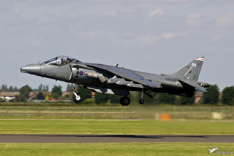 RAF Harrier GR9A ZG510 41 Sqn