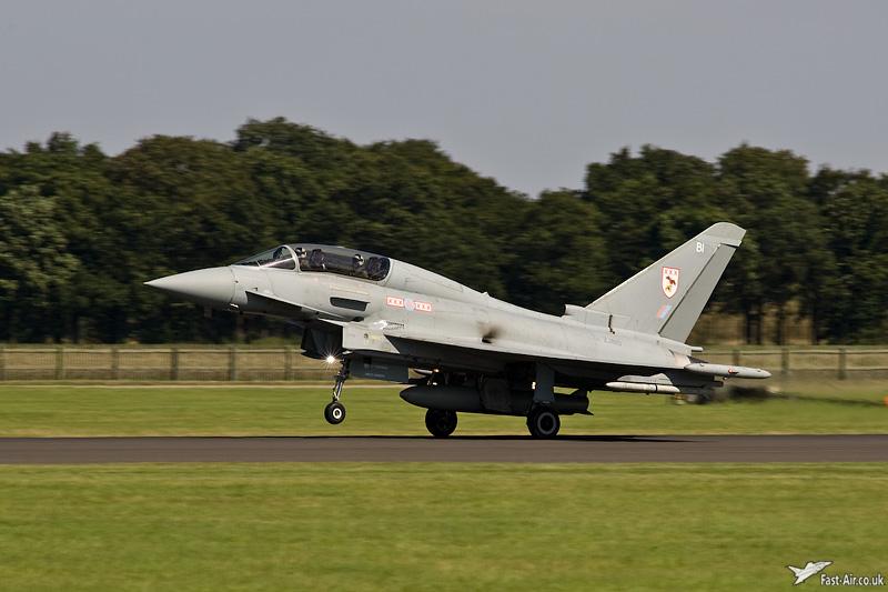RAF Typhoon T1 ZJ810 29 Sqn