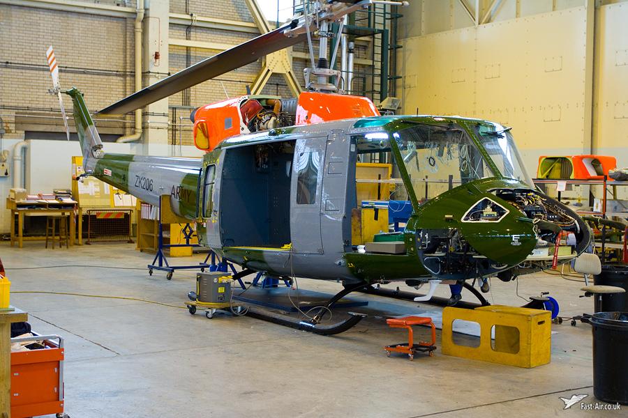 AAC Bell 212HP AH1 ZK206 Belize Photo