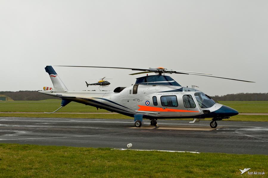 FB Services Agusta A-109E Power ZR324 Shawbury Photo