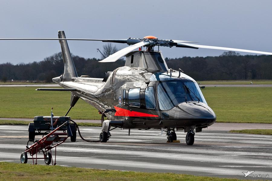 FB Services Agusta A-109E Power ZR325 Shawbury Photo