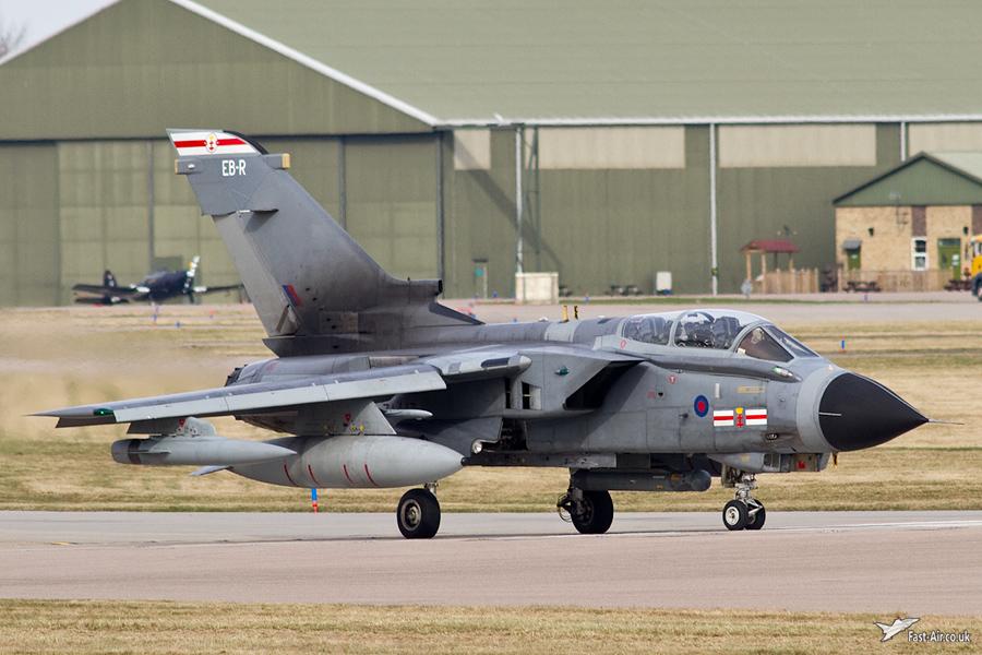 41(R) Sqn Tornado GR4 - ZA447 - EB-R tail code