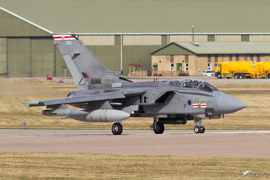 41(R) Sqn Tornado GR4 - ZA611 - EB-L tail code