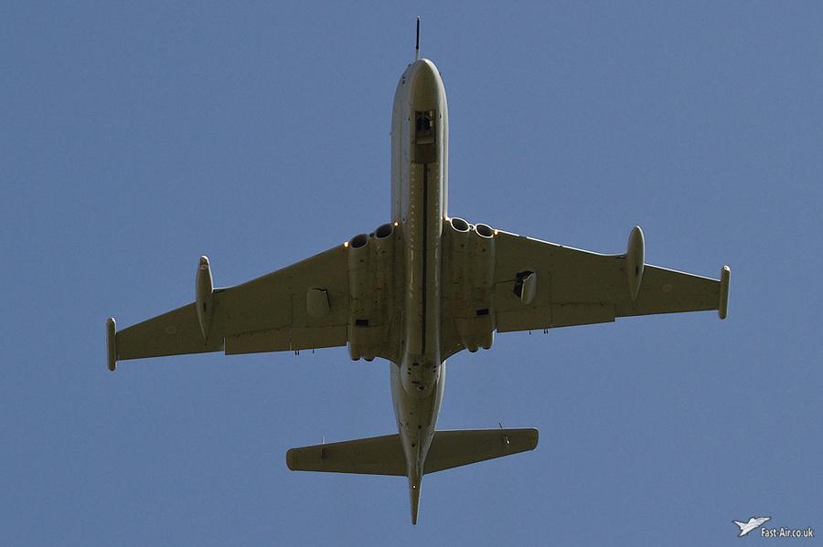 Nimrod MR2 XV226 final flight