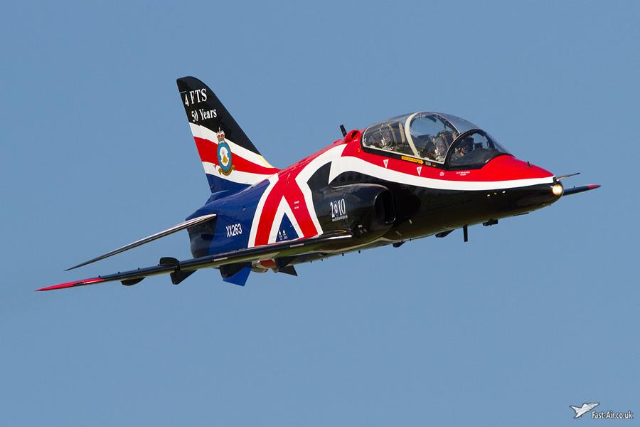 RAF Hawk Display - Waddington 2010 - photo 01
