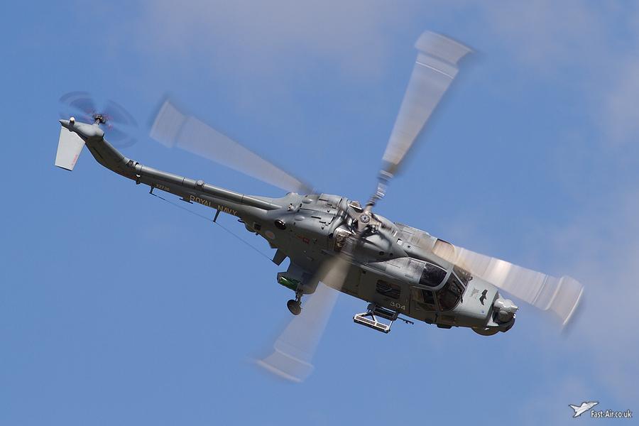 Royal Navy Lynx HMA8SRU XZ736 - Waddington 2010 - photo