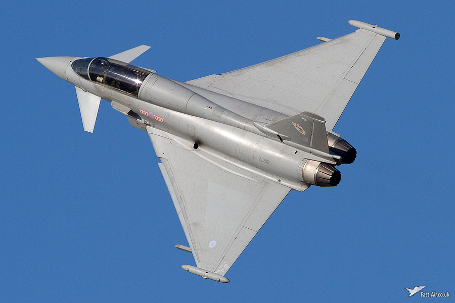 RAF Typhoon T1 ZJ810 photo 3