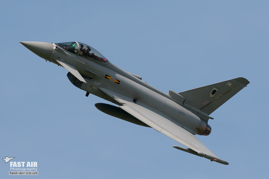 RAF Typhoon FGR4 ZJ923 display photo 11